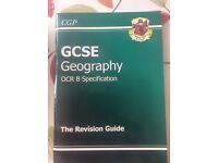 GEOGRAPHY GCSE REVISION Guide for OCR B SPECIFICATION