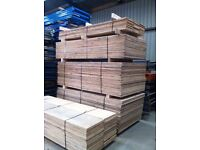 2450mm x 550mm or 300mm Chipboard Sheets decking pallet racking board