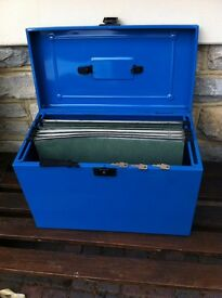 A4 double deep file box