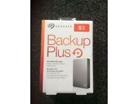Brand New & sealed Seagate Backup Plus portable storage 5TB