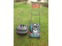 Bosch Rotak 400 ER electric mowing machine - nearly new!