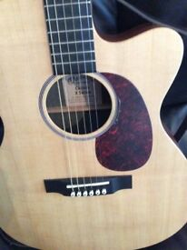 Martin Custom X series guitar Made in USA very rare with hard case