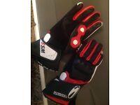Richa motorcyle gloves size L