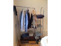 Clothes rail clothes Storage