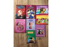 Princess books x8 all in excellent condition (inc Cinderella, Frozen, Snow While, Brave and another)