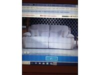Brand new 3 seater sofa love seat chair and stool