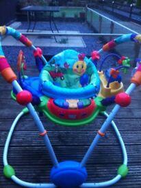 Baby Einstein Neighborhood Friends Activity Jumper Bouncer Chair