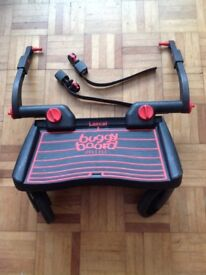 LASCAL BUGGY BOARD MINI RED COLOUR