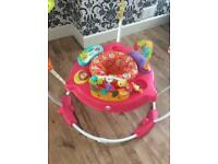 pink jumperoo fisher price