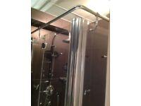 Large Stylish Shower Enclosure and tray