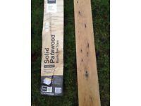 Solid oak wood flooring, plus some laminate