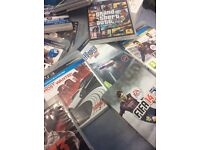 PS3 games Fifa 14, need for speed, the fight, fight night champions, Gta v, wwe 12' Fifa 13