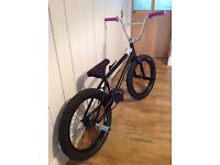 Custom built bmx we the people , federal freecoaster ,