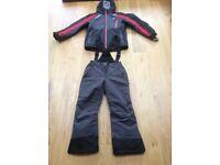 Kids Trespass ski jacket and Salopettes