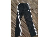 Unworn new adidas 3 stripe bottoms