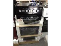 Beko 50 black electric cooker. £249 new in package 12 month Gtee