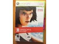 Xbox 360 Games: splinter Cell, Mirrors Edge (New sealed): Barely used