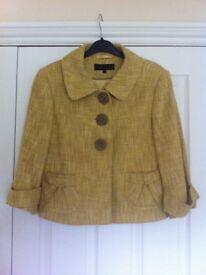 Next mustard coloured jacket