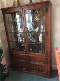 Old Charm Display Cabinet / drinks cupboard