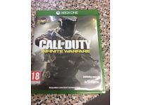 Xbox one game cod infinite warfare
