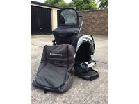 Uppababy Vista Stroller 2014 Black !!