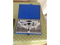 Precision tap and die set