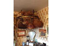 Vintage Butchers type Hanging Rack Storage only £35 tel Liz on 07933 398348