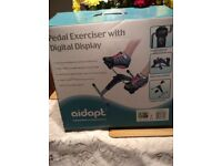 Digital leg pedal Exercisor