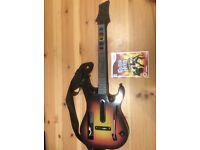 Guitar Hero World Tour + Guitar Wii