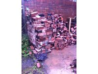 Free bricks, half bricks and rubble