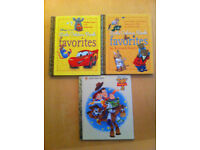 3 Little Golden Books - Disney Pixar favourites, Toy Story 2 & Favourites by Richard Scarry