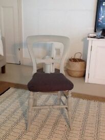 Victorian balloon back chair/s
