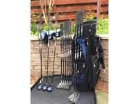Arnold Palmer Golf clubs -complete set nearly new