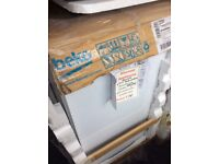 Beko slimline freestanding dishwasher in package 12 mth gtee £160
