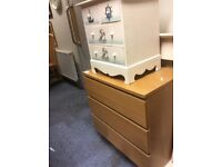 Ikea Malm wide chest of drawers
