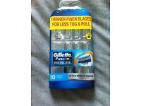 Gillette Fusion Proglide Manual 10 Blades