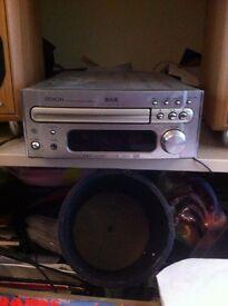 Denon RCD-M35DAB + Eltax Monitor III speakers