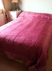 Large Quilted Bed Throw