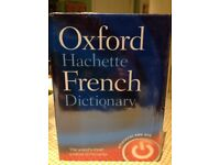 Oxford Hachette French/English dictionary advanced learner, hardback