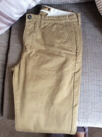 Mens Superdry trousers size med 32 in leg