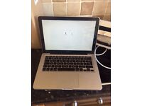 MacBook Pro 13.3 laptop 5 months old used oncce emaculate condition comes with all accessories