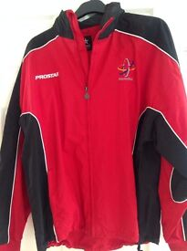 """MACCLESFIELD COLLEGE JACKET size 42/44"""" ,never worn, excellent condition from a smoke free home."""