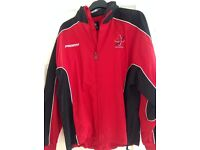 "MACCLESFIELD COLLEGE JACKET size 42/44"" ,never worn, excellent condition from a smoke free home."