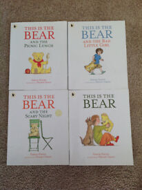 This is the bear set of 4 books