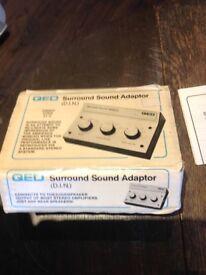 QED Surround Sound Adapter (Quadraphonic)