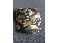 Camo combat hats (2 colours)