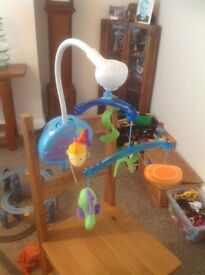Fisher price Baby cot mobile with music, £7