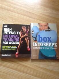 Ladies fitness book bundle