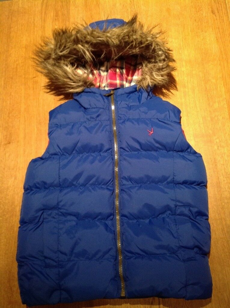 Girls gilet/body warmer 7-8 years