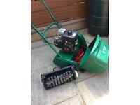 """Suffolk Punch Petrol Cylinder 14"""" Lawn Mower"""